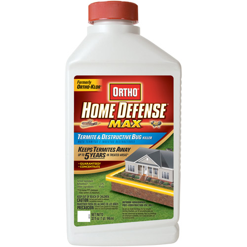 Ortho Home Defense MAX Termite & Destructive Bug Killer Concentrate (Trenching), 32 oz