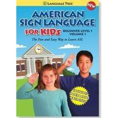 AMERICAN SIGN LANGUAGE FOR KIDS: LEARN ASL BEGINNER LEVEL 1, VOL. 1 - Beginner Level