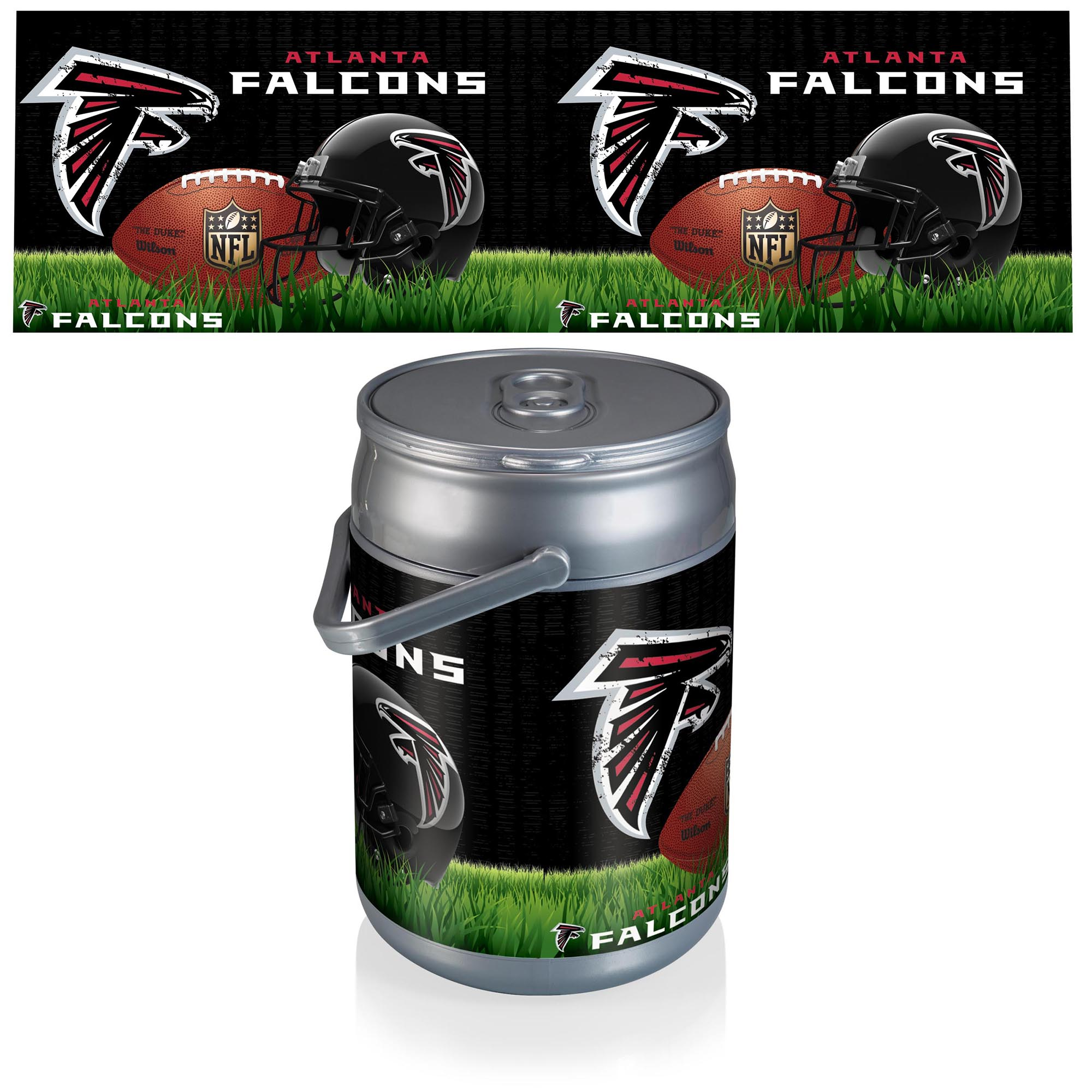 Atlanta Falcons Football Can Cooler - No Size