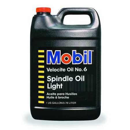 MOBIL Mobil Velocite 6, Spindle Oil, 1 gal., 100848
