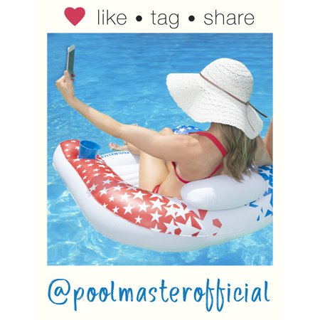 Poolmaster American Stars Paradise Chair Swimming Pool