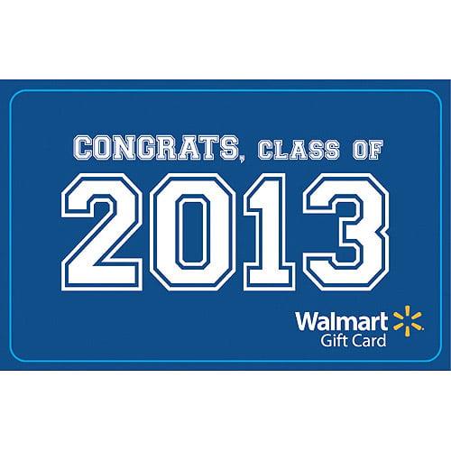 Congrats Class of 2013 Gift Card