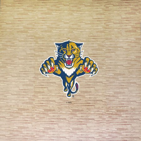 NHL Florida Panthers Portable Foam Puzzle Tailgate Floor Mat by