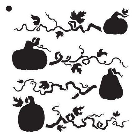 Pumpkin Patch - Pattern Stencil - 6