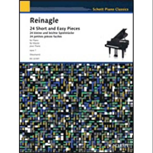 Hal Leonard 24 Short and Easy Pieces for Piano Op. 1