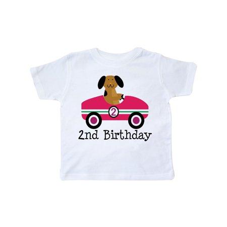 2nd Birthday Race Car Boys Cute Racing Toddler T-Shirt (Cute Boys Website)