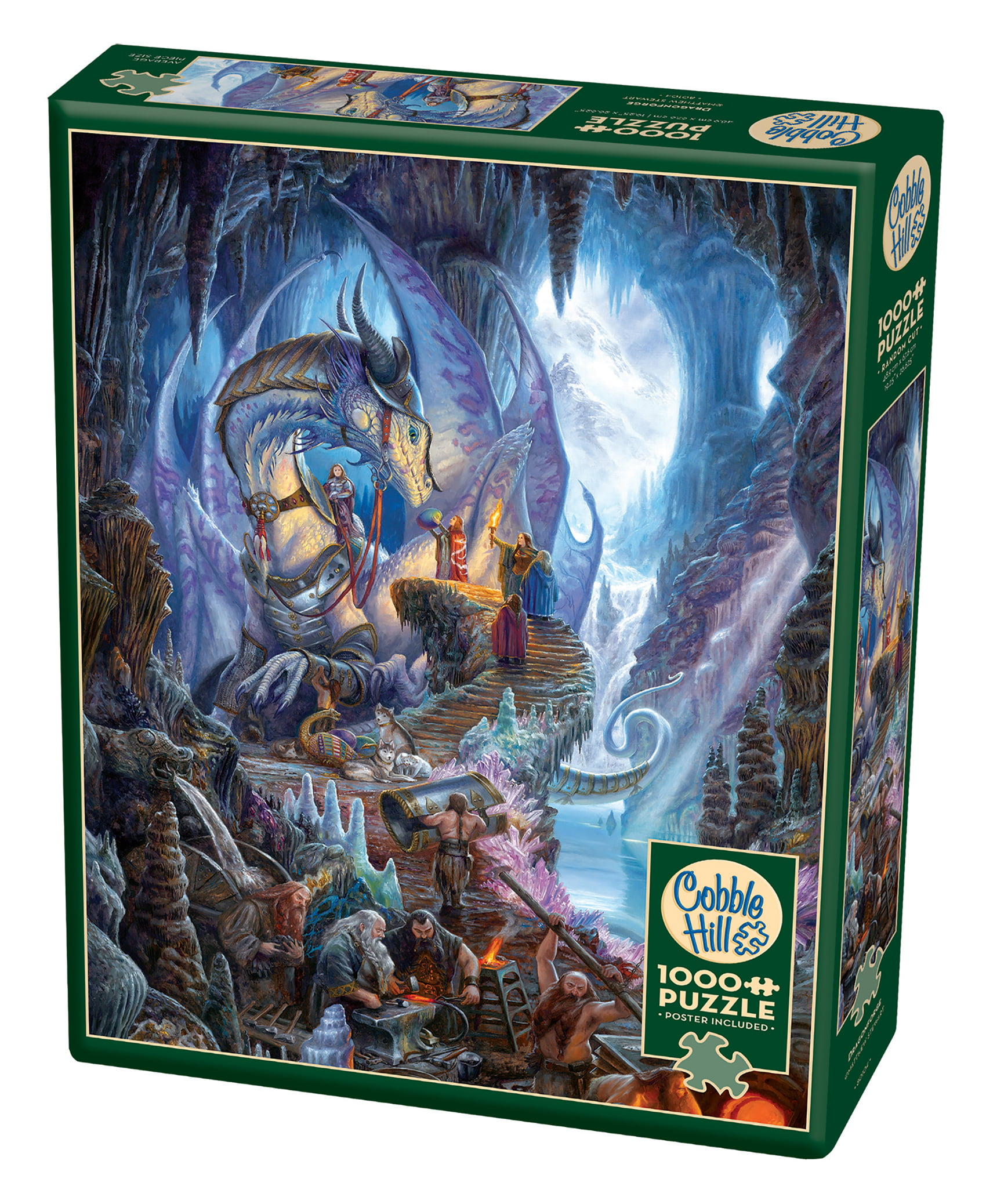 Cobble Hill: Dragon Forge 1000 Piece Jigsaw Puzzle by Outset Media