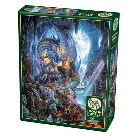 Cobble Hill: Dragon Forge 1000 Piece Jigsaw (Dragon 1000 Piece Jigsaw Puzzle)