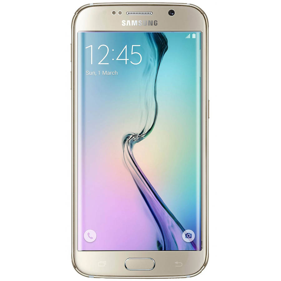 Samsung Galaxy S6 edge G925A 32GB GSM LTE Android Smartphone (Unlocked), Gold