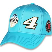 Kevin Harvick Stewart-Haas Racing Team Collection Sublimated Uniform Adjustable Hat - Light Blue - OSFA