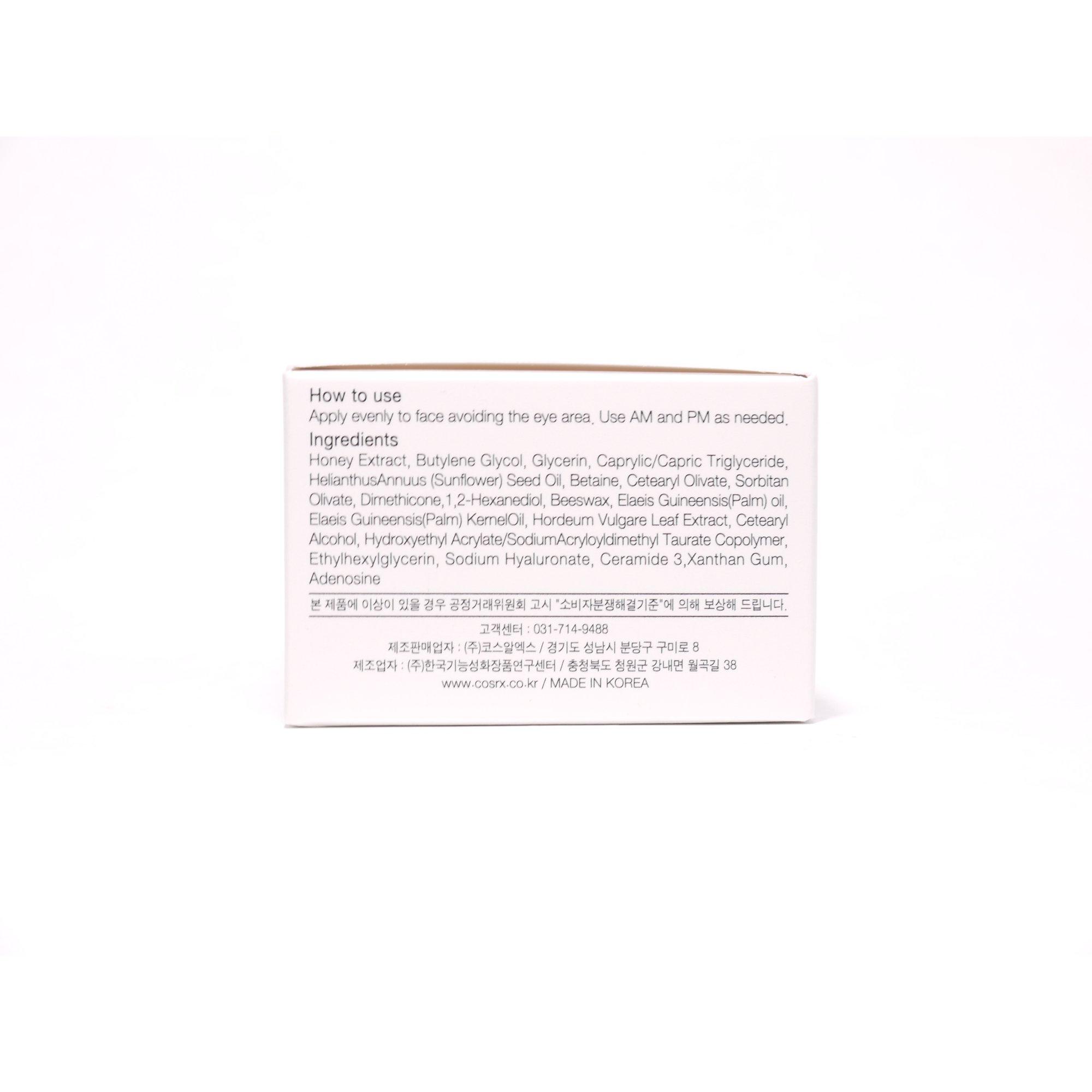 Buy Cosrx Honey Ceramide Full Moisture Cream Cheapest Cosrx Deals