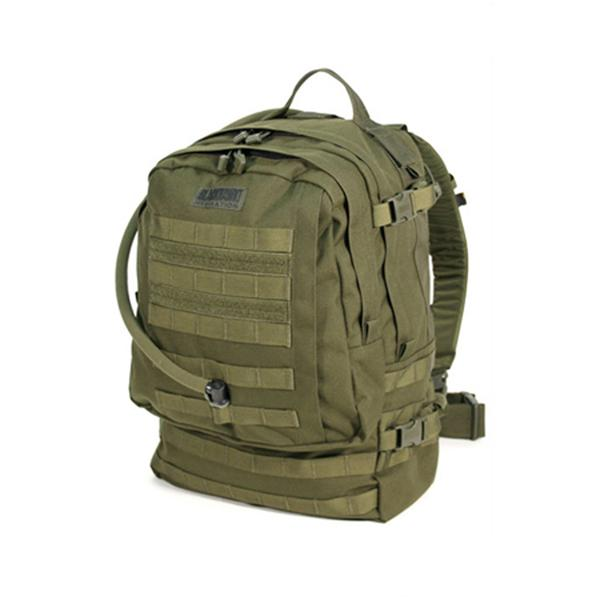 BKHAWK BH-65BG00OD Barrage Hydration 3 Day Assault Pack, OD Green by Blackhawk
