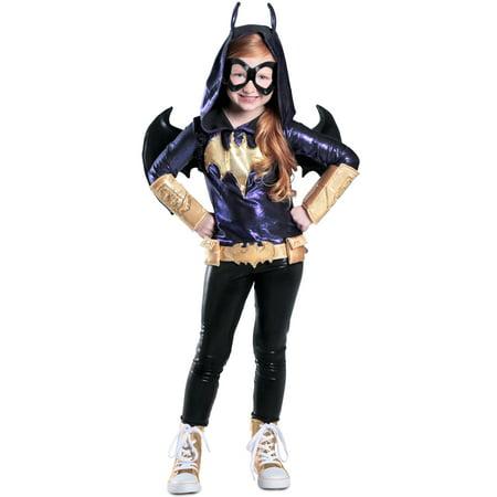 DC SuperHero Deluxe Batgirl Costume for Kids](Batgirl Costumes Kids)