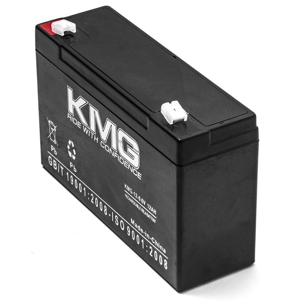 KMG 6V 12Ah Replacement Battery for HITACHI HP10-6 - image 2 de 3