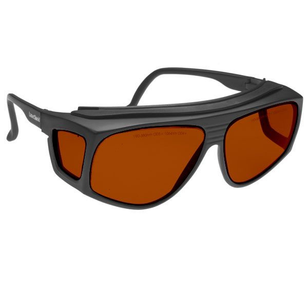 Noir Spectra Shields X-Large Fitover 35 Percent Amber-Orange