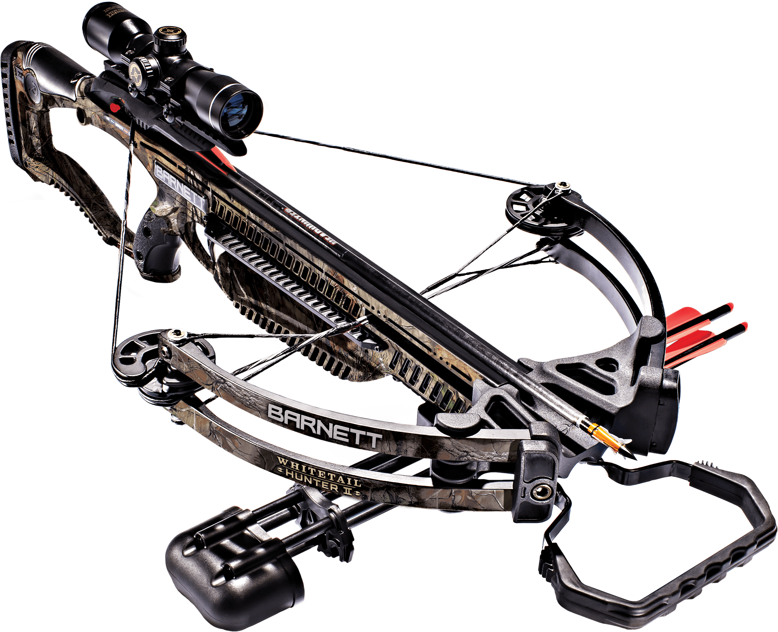 Click here to buy Barnett Hunting Whitetail Hunter II Realtree Xtra Crossbow by Barnett.