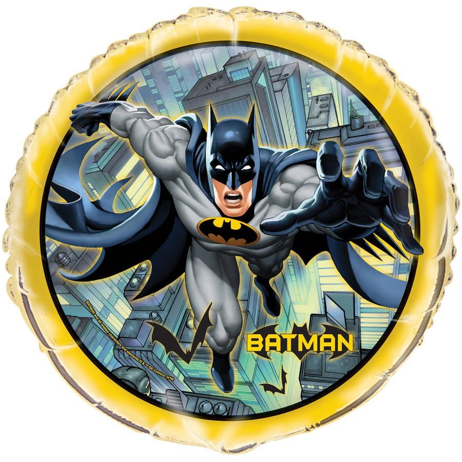Foil Batman Balloon, 18 in, 1ct
