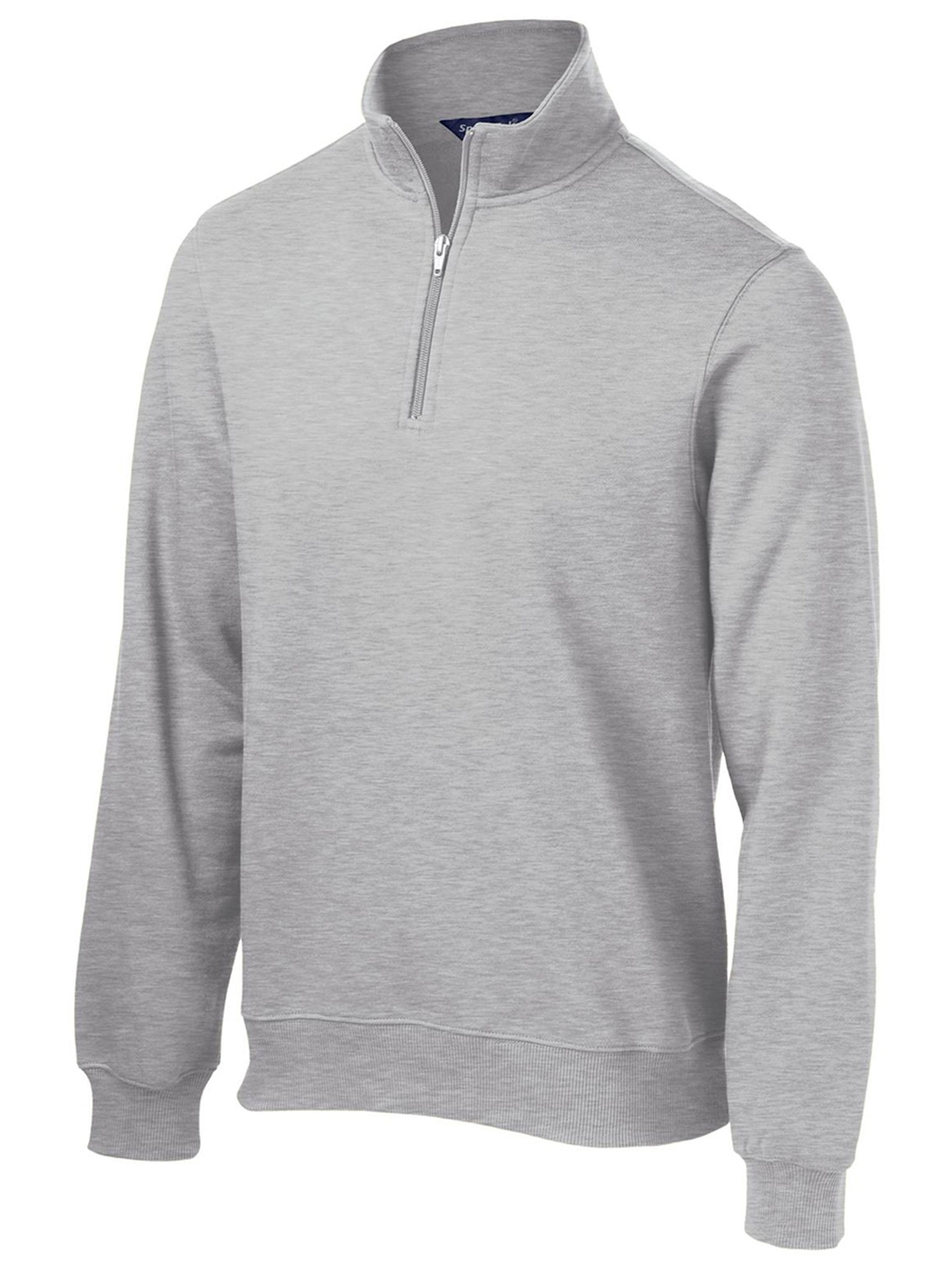 Sport-Tek Men's Big And Tall 1/4-Zip Waistband Sweatshirt