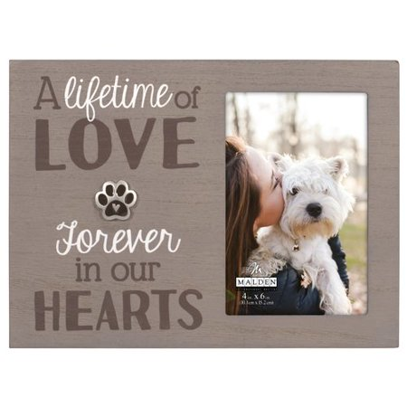 Malden Pet Memorial with Paw Picture Frame Pet Photo Picture Frame