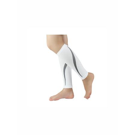 Unique Bargains Unisex Footless Stretchy Novelty Prints Ankle Band Compression Socks 1 Pack - image 1 de 3
