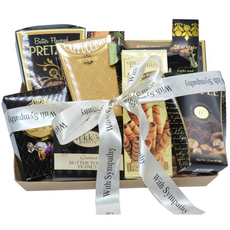 - Sincerest Sympathy and Condolences Deluxe Gift Basket