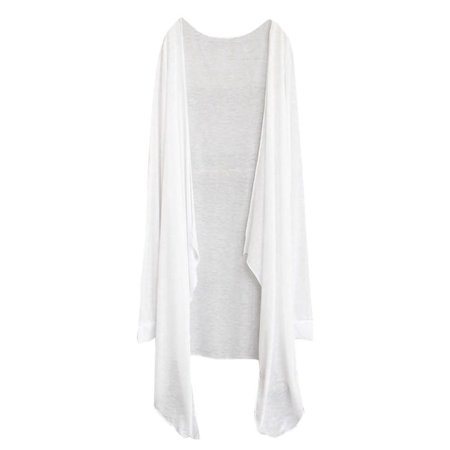 Outtop Summer Women Long Thin Cardigan Modal Sun Protection Clothing Tops