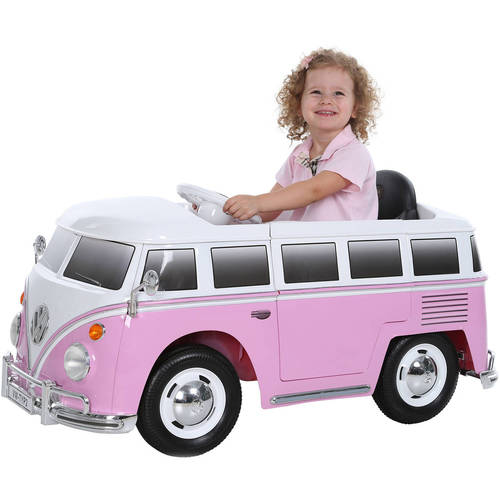 GOODBABY HONG KONG LIMITED Rollplay VW Type 2 Bus 6 - Volt Battery - Powered Ride - On