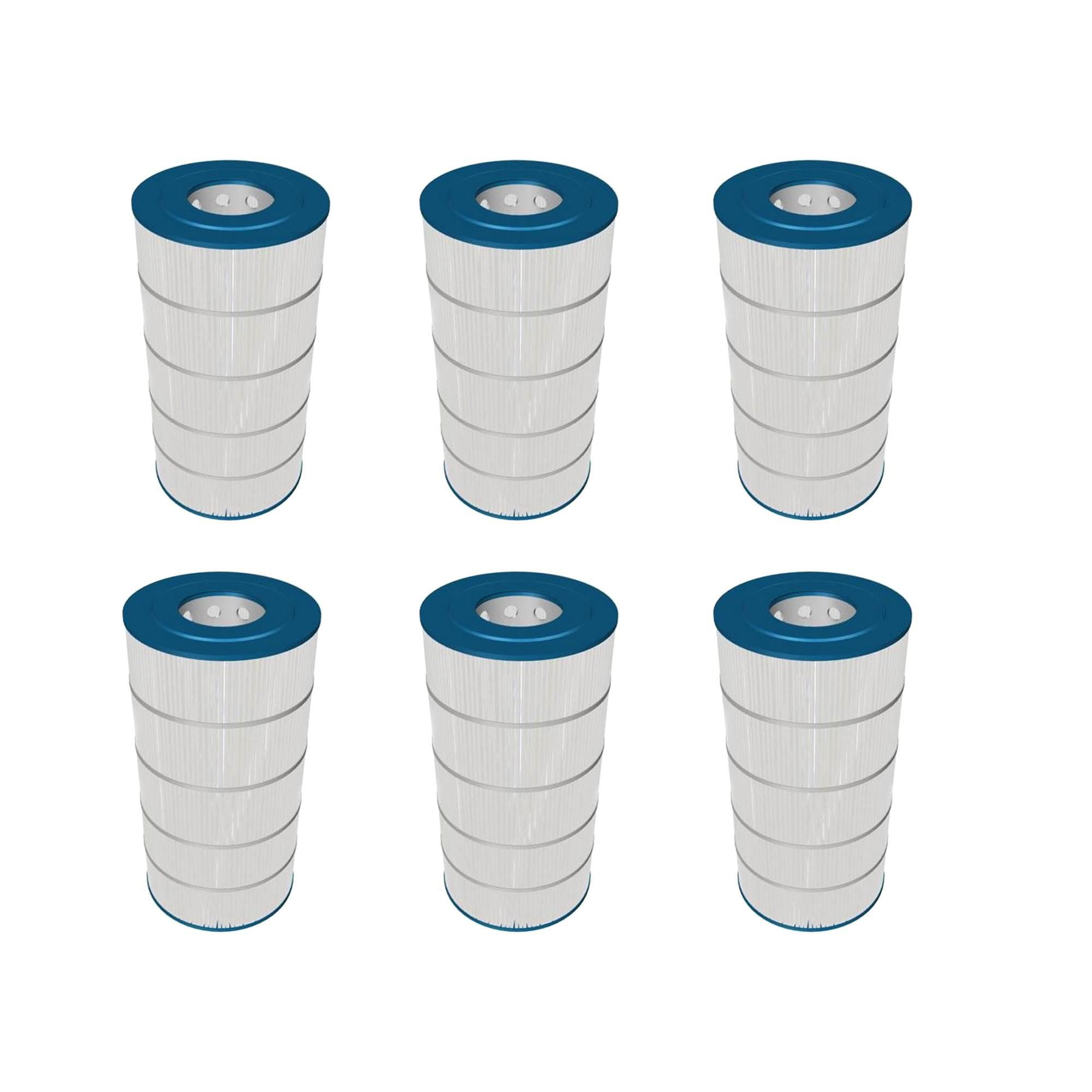 Hayward 150 Square Foot Replacement Swimming Pool Filter Cartridge 6 Pack Walmart Com Walmart Com