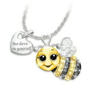 925 Sterling Silver Cute Elephant Bee Owl Ladybug Pendant Necklace