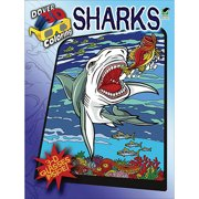Dover Publications Sharks 3-D Coloring Book