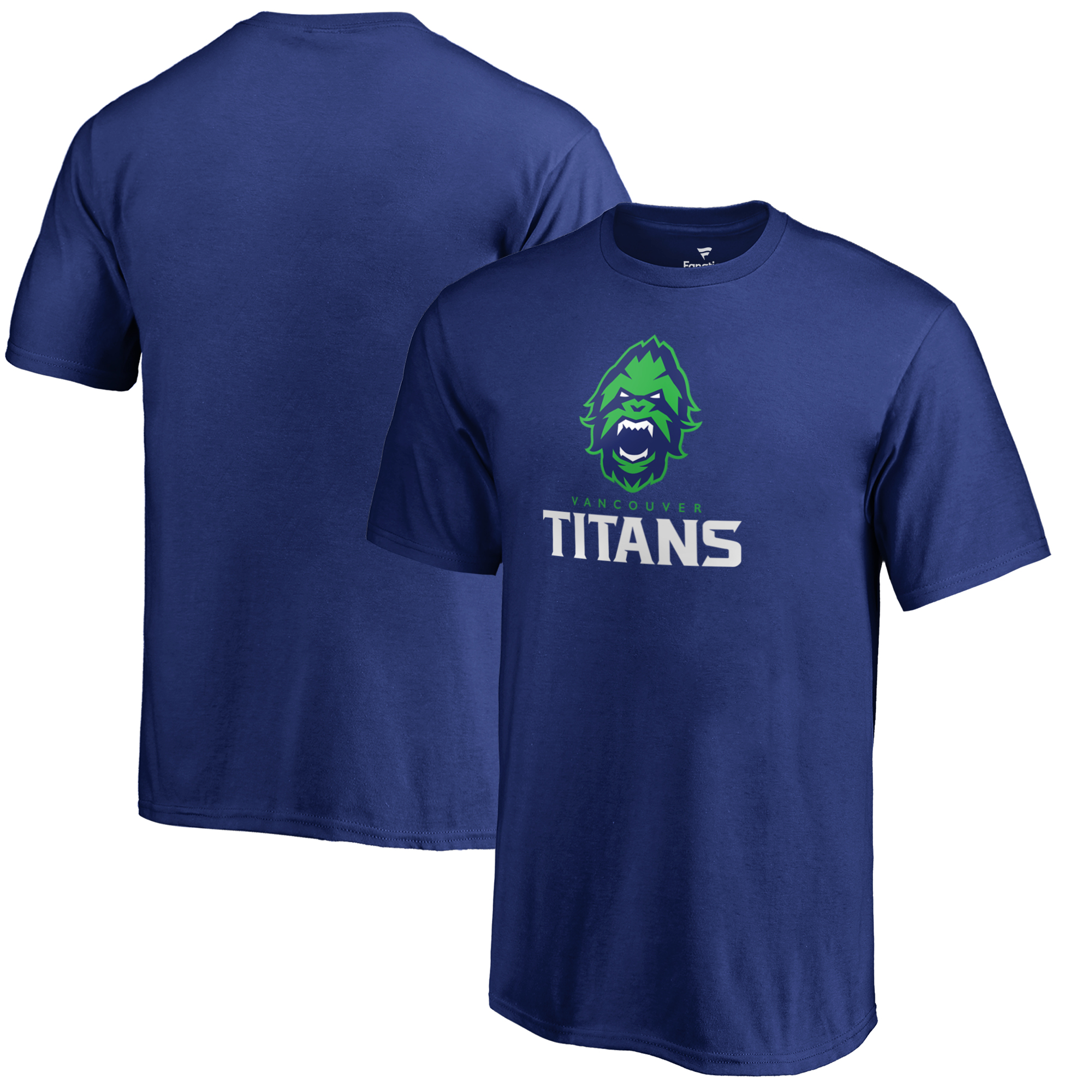 Vancouver Titans Fanatics Branded Youth Team Identity T-Shirt - Royal