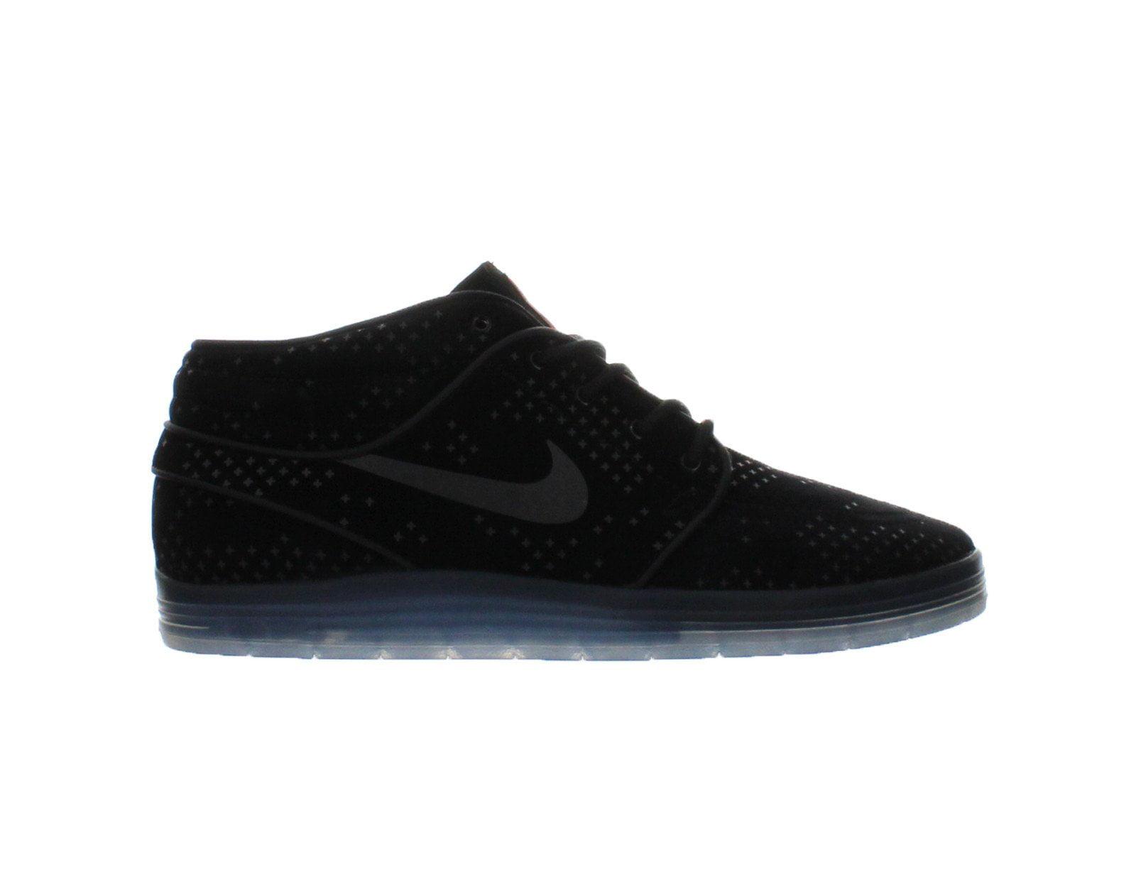 e7c03f9dc0c8 Nike - Mens Nike Lunar Stefan Janoski Mid Flash SB Black Clear ...