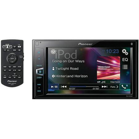 Pioneer Mvh Av290bt 6 2  Double Din In Dash Digital Media A V Receiver With Bluetooth