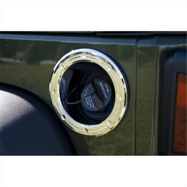 Rugged Ridge 13311.23 Chrome Fuel Filler Accent Trim