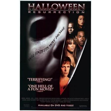 Posterazzi MOVCE9401 Halloween Resurrection Movie Poster - 11 x 17 in. - Halloween Ressurection