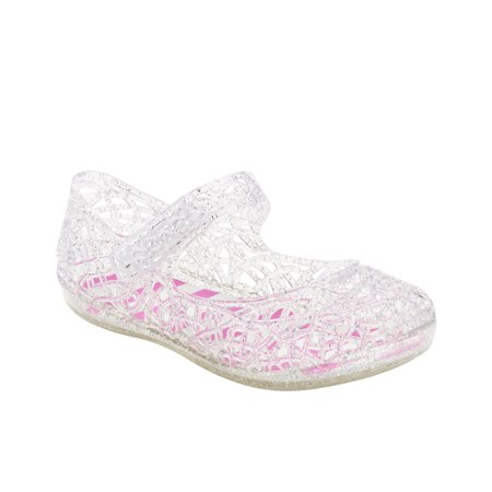 dd83c57c9ff0 Infant Girls  Mary Jane Jelly Sandal - Walmart.com