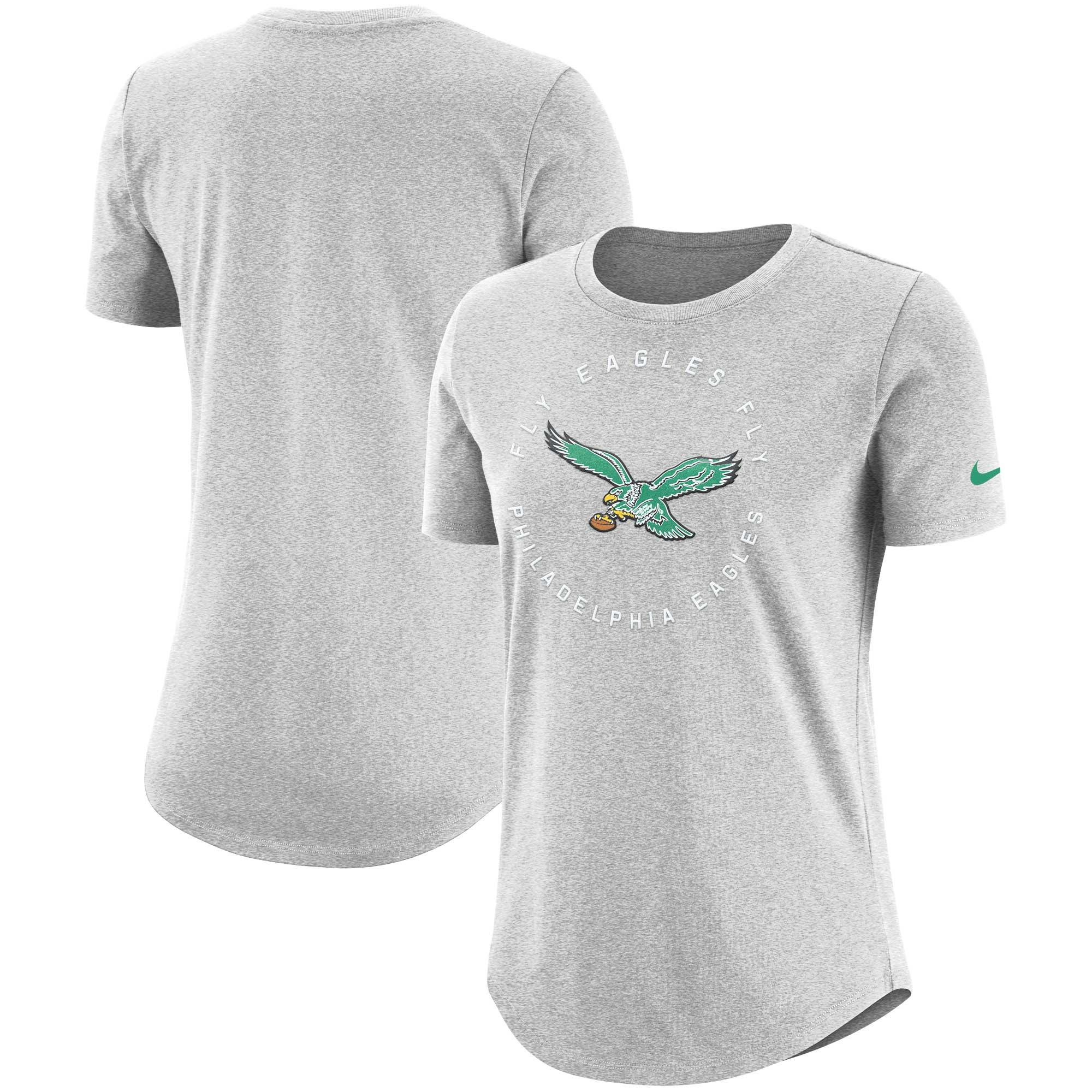Philadelphia Eagles Nike Women's Seal T-Shirt - Gray
