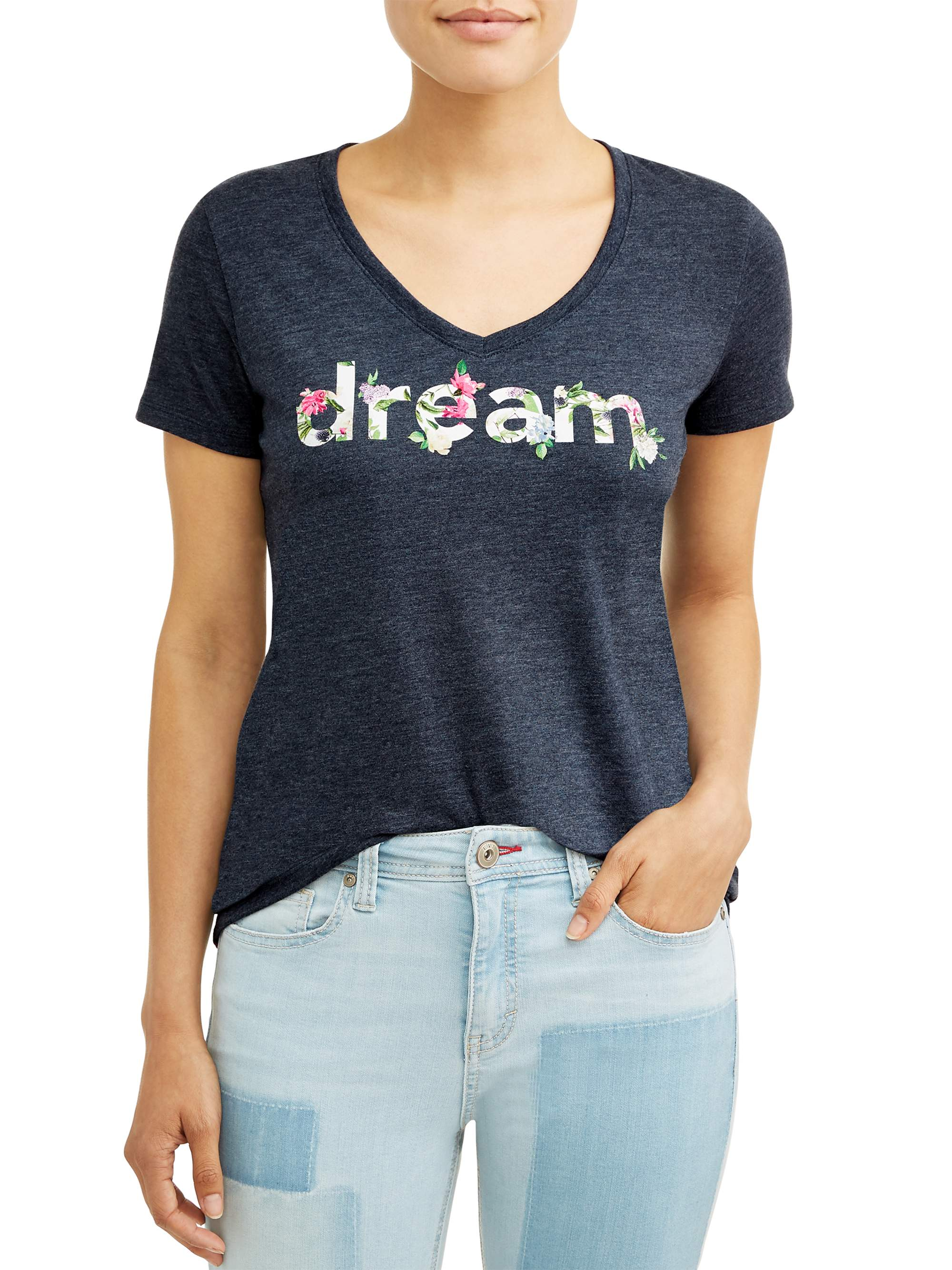 Dream Short Sleeve Graphic T-Shirt Women's