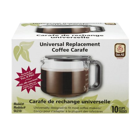 Medelco Universal Replacement Coffee Carafe - 10 CUPS, 1.0 CT ()
