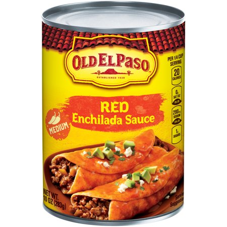 Old El Paso Medium Enchilada Sauce 10 oz Can - Walmart.com