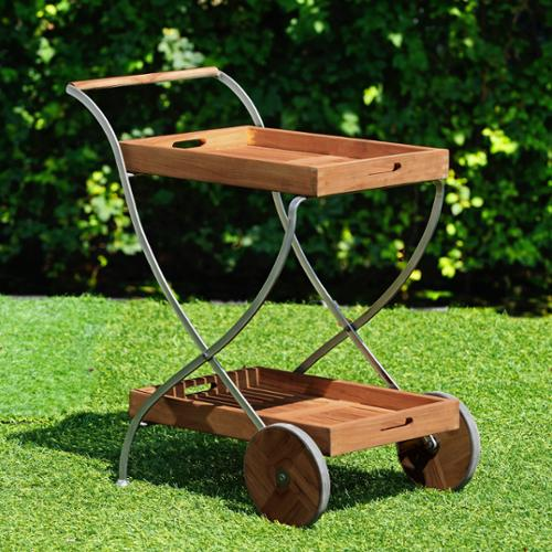 Harper Blvd Larson Outdoor Serving Cart by Overstock
