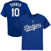 Justin Turner Los Angeles Dodgers Majestic Youth Player Name & Number T-Shirt - Royal