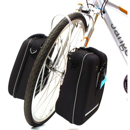 Topeak Jango Universal Bike Side Pannier Bags Pair Pr Front Or Rear Eva New