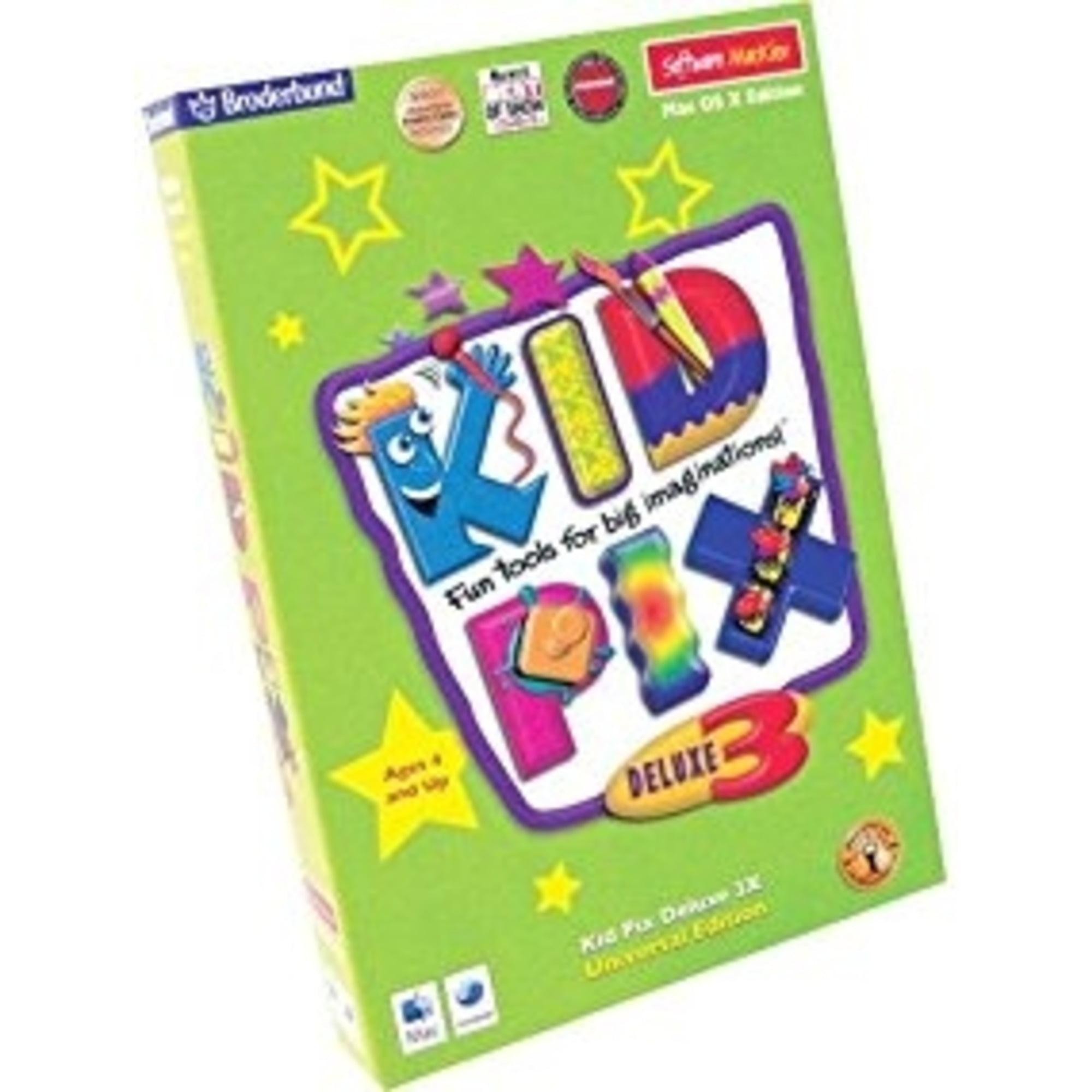 Kid Pix 3D Deluxe 3X Software
