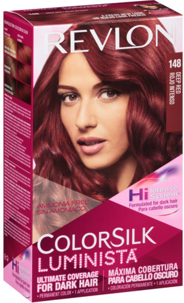 Revlon Colorsilk Luminista Hair Color 148 Deep Red 1 Ea Pack Of 3