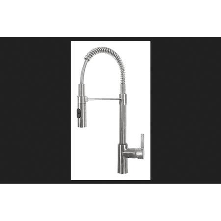 Franke Fuji Pull Down Sprayer One Handle Satin Nickel Kitchen (Satin Nickel Franke Accessories)