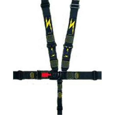 Impact Racing 54116661 2 in. Quarter Midget Junior Drag Latch & Link Restraint System - Individual Shoulder