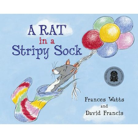 A Cartoon Rat (A Rat in a Stripy Sock)