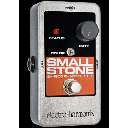 Electro Harmonix Small Stone Analog Phase Shifter Phaser Pedal W  9V Battery Part Number  Nsmall
