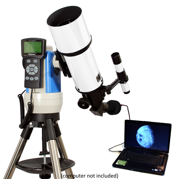Twinstar 80mm Computerized Refractor Telescope with Camer...